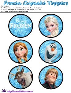 Cupcake-toppers-Frozen-SKGaleana